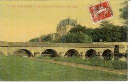Cpa 36 Châteauroux , Le Château Raoul Et Le Pont Neuf , Voyagée 1918 - Chateauroux