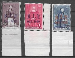 OBP305/07, Postfris**, Allen Met Bladboord - Unused Stamps