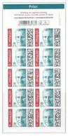 COB  B 167  (MNH) - Postzegelboekjes 1953-....