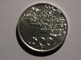 Monnaies-Belgique-500Fr-150 Ans D'indépendance De La Belgique- 1980. - 11. 500 Francs