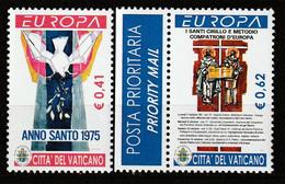 VATICAN - N°1314/5 ** (2003) Europa - Unused Stamps