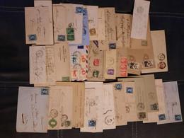 Anciennes Lettres Et Cartes - Verzamelingen (in Albums)