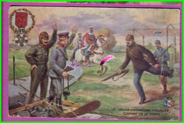 CPA - Guerre LEGION D'HONNEUR CHEVALIER AVIATEUR  - Carte Publicitaire Pour La Bougie EYQUEM - écrite  Oblitéré 1916 - Advertising