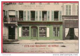 CPA 38 VOIRON Confiserie Patisserie BONNAT Plum Cake - Voiron