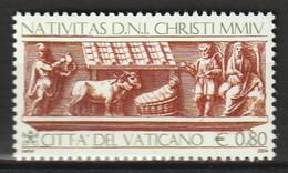 VATICAN - N°1367 ** (2004) - Nuevos