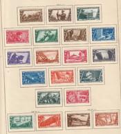 Italie Poste Série 305 A 320 Avec Charniére * 10 Anniversaire De La Marche Sur Rome + Pa 39 40 +21 22 Expres - Mint/hinged