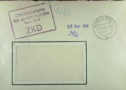 """Fern-Brief Mit ZKD-Kastenstempel """"Zentralstelle Für Jugendhilfe BERLIN W 8"""" Vom 11.8.64 Nach Potsdam - Service"""