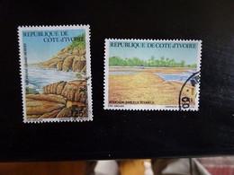 COTE D' IVOIRE  N° 777-778   OBLITERE - Ivory Coast (1960-...)