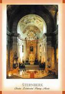 1 AK Tschechien * Innenansicht Der Kirche Mariä Verkündigung In Der Stadt Šternberk (deutsch Sternberg) * - Czech Republic