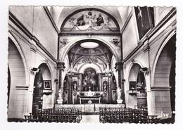 13 LA ROQUE D'ANTHERON Vers Mallemort L'Intérieur De L'Eglise En 1971 Choeur Autel - Mallemort