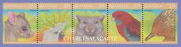 AUSTRALIA 1987  WILDLIFE 37c. SE TENANT  S.G. 1072-1076  U.M. /N.S.C. - Nuevos