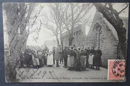 CPA 29 PENMARCH -  Distribution De Secours Au Vieux Manoir De Pennety - La Chapelle - Villard 827 -  Réf. Q 174 - Penmarch