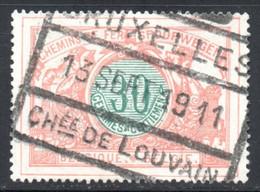 YT 32 OBLITERE BRUXELLES - 1895-1913