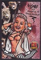 CPM Salon Cartes Postales Tirage Limité 30 Ex Numérotés Signés Par JIHEL Nu Féminin Nude Gisors Eure - Sammlerbörsen & Sammlerausstellungen