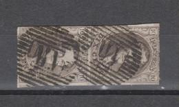COB 10 En Paire Oblitéré M.V Ambulant MIDI 5 - 1858-1862 Medaillen (9/12)