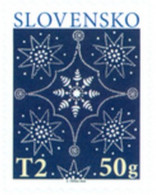 Slovakia - 2020 - Christmas 2020 - Traditional Slovak Blueprint - Mint Self-adhesive Booklet Stamp - Unused Stamps