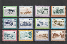 Guernsey Kleine Verzameling TX Nr 30/41 **, Zeer Mooi Lot Krt 4324 - Guernesey