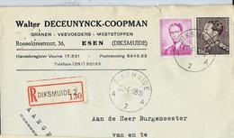 Doc. De DIKSMUIDE - A 2 A - Du 23/04/68 En Rec. ( E ) - Landpost (Ruralpost)