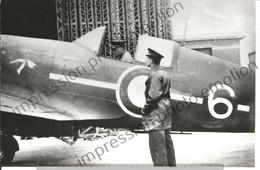 PHOTO AVION  A IDENTIFIER PILOTE   17X12CM - Aviación
