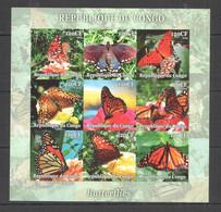 UU233 IMPERF 2004 BUTTERFLIES FLORA & FAUNA SH MNH - Mariposas