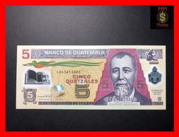 GUATEMALA 5 Quetzales  2.5.2012   P. 122 Polymer   UNC - Guatemala
