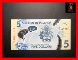 SOLOMON ISLANDS   5 $  2019  P. New   Polymer  UNC - Solomon Islands
