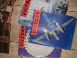 Lot  3 Victory Guerre 2 Magazine Americain En Francais 1 En Anglais Rare - Francese