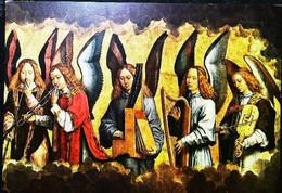 ►◄ MEMLINC HANS Le Christ Entouré D'anges Musiciens   Violon Harpe , Accordéon  Trompette - Objetos De Arte