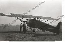 PHOTO AVION   A IDENTIFIER    17X11CM - Aviación