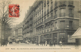 75003 - PARIS - Rue Des Archives Prise Rue Sainte Croix De La Bretonnerie - Fleury - Paris (03)