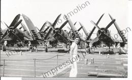 PHOTO AVION   A IDENTIFIER   VOUGHT CORSAIR  17X11CM - Aviación