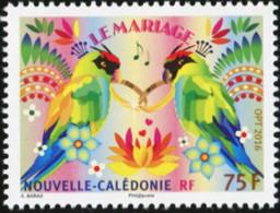 New Caledonia 2016, Wedding Stamp, MNH Single Stamp - Unused Stamps