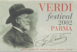 Verdi Festival 2002 à Parma Italie - Singers & Musicians