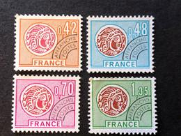 Preoblitérés 134 135 136 137 Neuf Sans Gomme - 1960-.... Matasellados