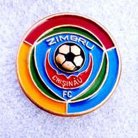 Football/soccer/pin- Quality, Rare, Old -  ZIMBRU  Chisinau  -  MOLDOVA. - Fútbol