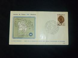 """BELG.1961 1175 FDC (Charleroi): """" Journée Du Timbre /Dag Vd Postzegel 1961  """" - 1961-70"""