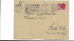 Brief Aus Nürnberg Nach Lohr 1934 - Cartas