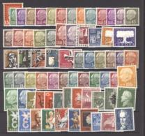 Sarre  :  Yv  361-430  **   Complet - Unused Stamps