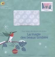 """FRANCE PAP Enveloppe Prêt à Poster  PHIL@POSTE  """"  LA MAGIE DES BEAUX TIMBRES """"    MONTIMBRAMOI    International  250 Gr - Pseudo-interi Di Produzione Ufficiale"""