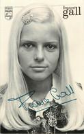 Celebrités Autographe Dedicace - FRANCE GALL Philips - Singers & Musicians