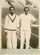 Photo De Presse - Tennis Stade Roland Garros Japonnais ABE HARADA Internationaux De France 22 Mai 1930 - Sport