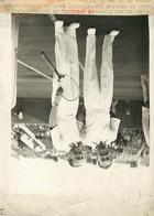 Photo De Presse - Tennis Stade Roland Garros LOTT MOPURGE  Finales Interzones De La Coupe Davis  18 Juillet 1930 - Sport