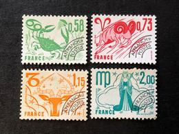 Préos 150 151 152 153 Neuf Sans Gomme - 1964-1988
