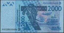 ♛ WEST AFRICAN STATES - 2.000 Francs 2003 (2004) {Mali D} UNC P.416 Db - Mali