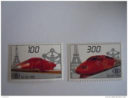 België Belgique 1996 Spoorwegvignet Thalys Trein Train SV1/2 MNH ** - Otros
