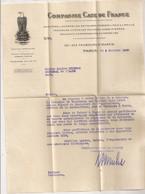 1920 LETTRE A ENTETE COMPAGNIE CASE / MACHINES AMERICAINES / MATERIEL AGRICOLE  C1639 - Agricoltura