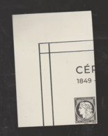 FRANCE / 2019 / Y&T N° 5361E ** : TP Isolé Issu Cérès Noir Du BF147 ** (Bloc De 4 TP) X 1 CdF Sup G - Neufs