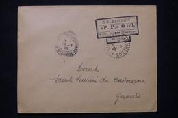 ST PIERRE ET MIQUELON - Cachet PP 030 De St Pierre Pour La France En 1926 - L 77399 - Lettres & Documents