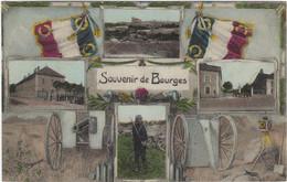 18  Bourges Vues Multiples Souvenir De Bourges - Bourges
