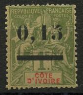 Côte D'ivoire (1904) N 20 * (charniere) - Nuevos